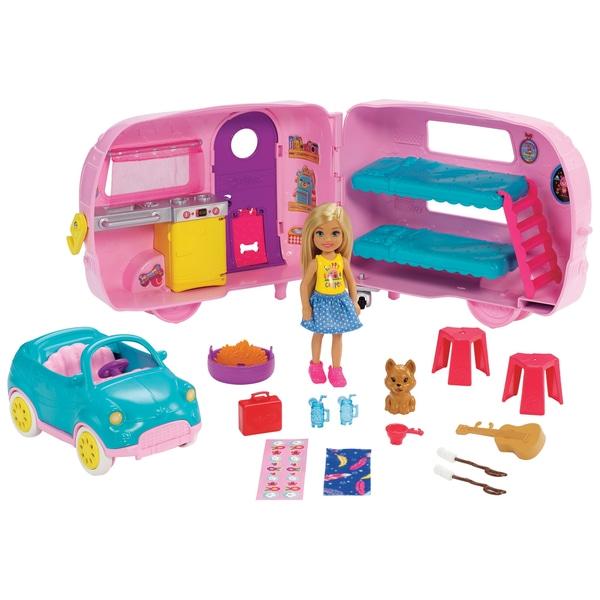 Barbie Club Chelsea Camper cu accesorii