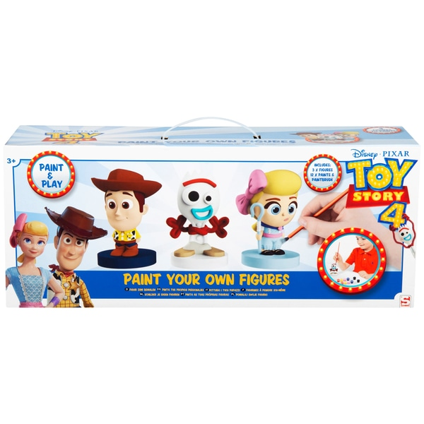 Disney Pixar Toy Story 4 Vopsea propria figura 3 Pack