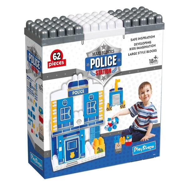 Secția de poliție Blocuri de constructii Playset