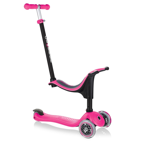 Globber GO UP SPORTY Deep Pink Scooter