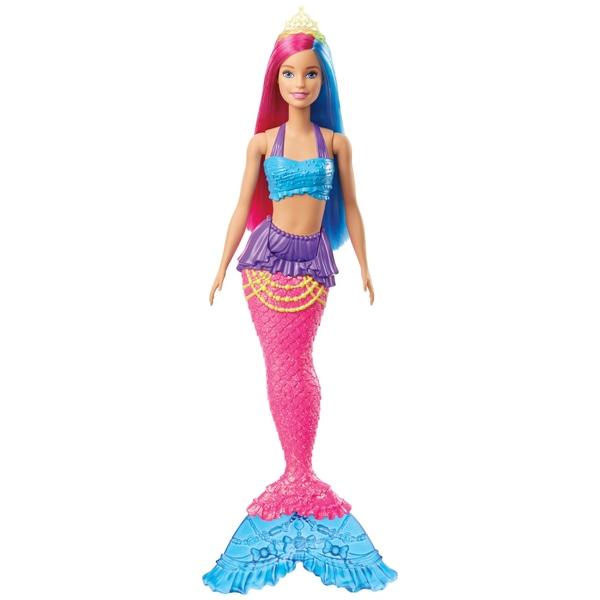Barbie Dreamtopia Mermaid Doll (roz și albastru)