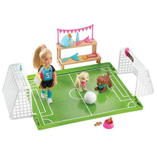 Barbie Chelsea Fotbal Playset