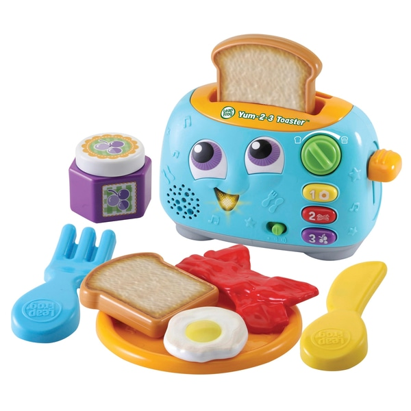 LeapFrog Yum-2-3 Prăjitor de pâine