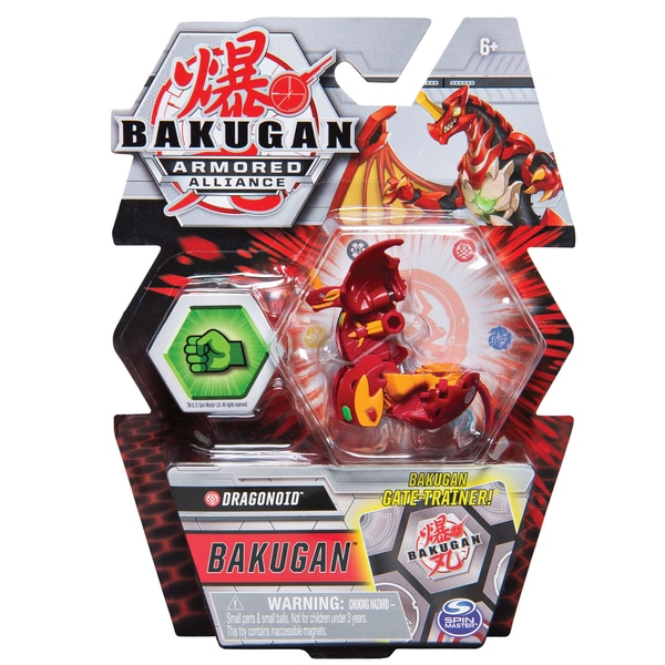 Bakugan Sezonul 2 Armored Alliance Core Action Figura și Trading Card Sortiment