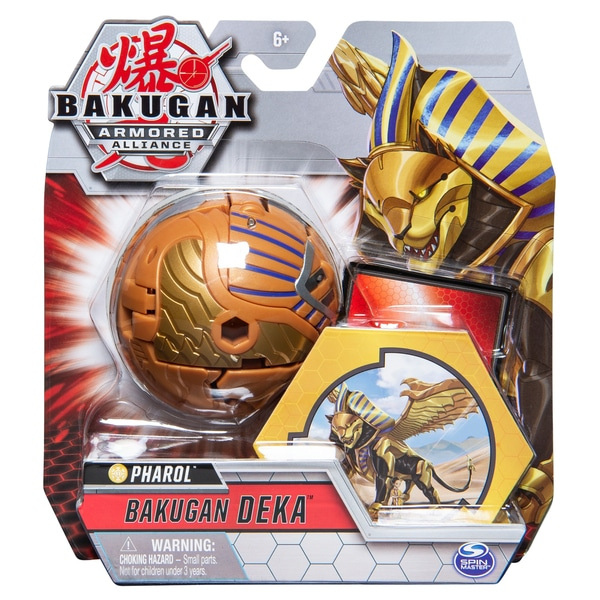 Bakugan Deka Pharol Armored Alliance Jumbo Figura - Sfinx de aur