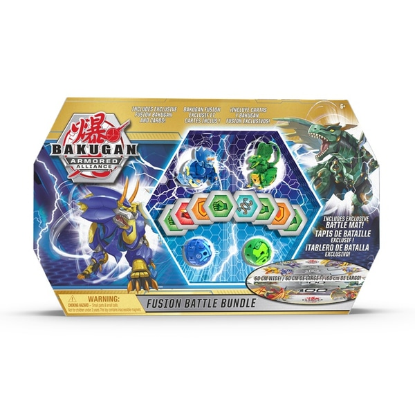 Bakugan Fusion Battle Bundle