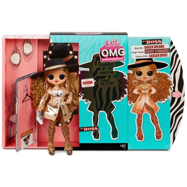 L.O.L. Surpriză! O.M.G. Da Boss Fashion Doll cu 20 de surprize