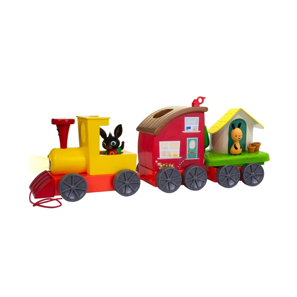 Bing's Lights and Sounds Tren cu playsets