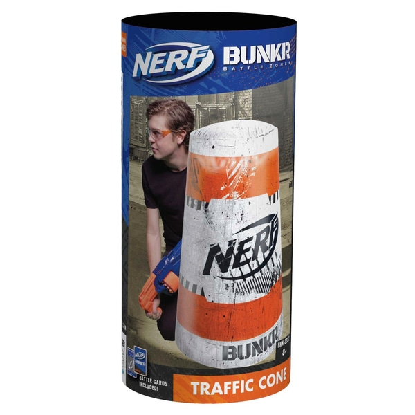 Nerf Bunkr Ia Cover Trafic Cone