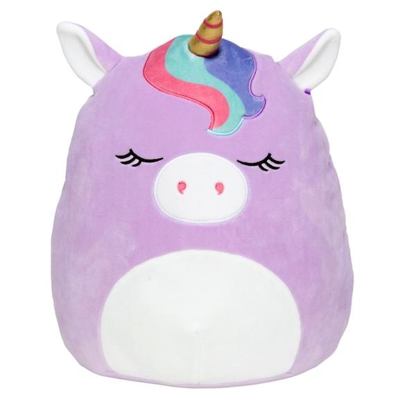 Squishmallows Plush 50cm Silvia Unicorn violet