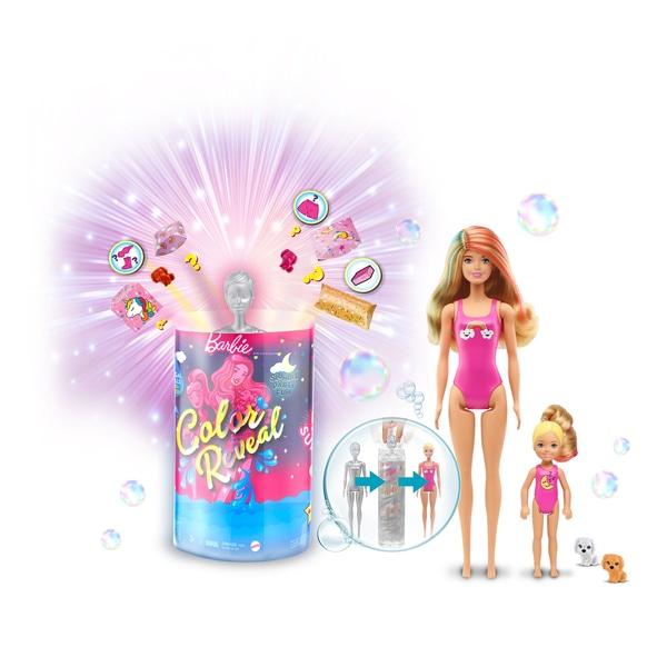 Barbie Culoare Reveal Slumber Party Fun Set