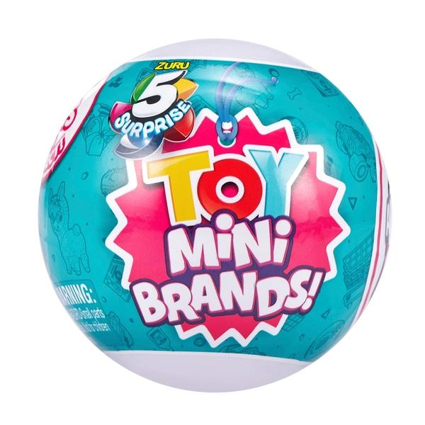 5 Surpriza Jucărie Mini Brands Capsule de colectie jucărie de ZURU