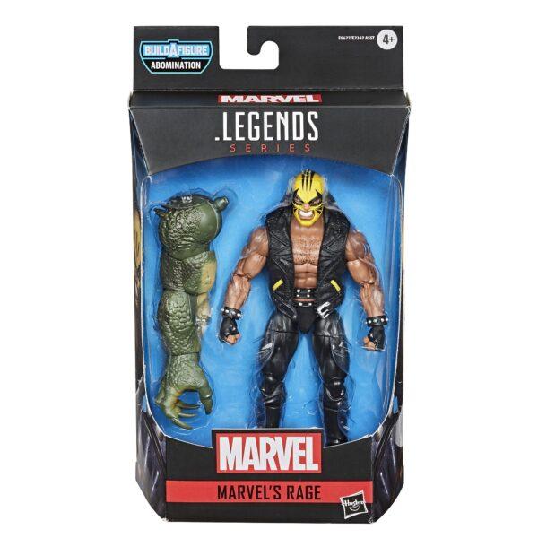 Hasbro Rage 6'' Gamerverse Marvel Legends Seria De acțiune Figura