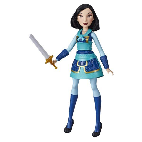 Hasbro Mulan Warrior Mută Doll