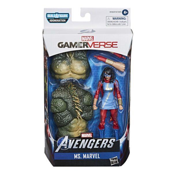 Hasbro Ms. Marvel 6'' Gamerverse Marvel Legends Seria De acțiune Figura